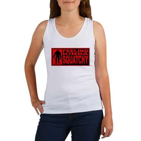 Finding Bigfoot - Squatchy Women's Tank Top