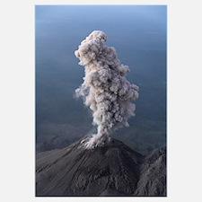 Santiaguito ash eruption Guatemala