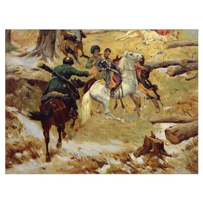The Death of Major General Sleptsov in Chechnya (o Framed Print