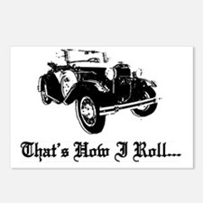 Ford model a Postcards (Package of 8)