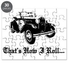 Cute Old cars Puzzle