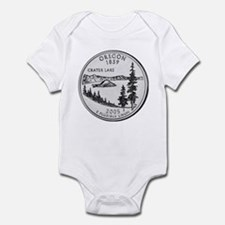 2005 Oregon State Quarter Infant Creeper