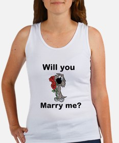 Will You Marry Me? Women's Tank Top