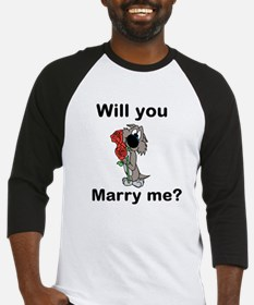 Will You Marry Me? Baseball Jersey