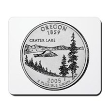 2005 Oregon State Quarter Mousepad