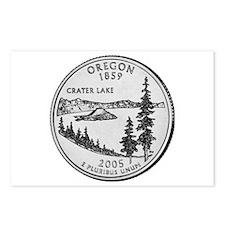 2005 Oregon State Quarter Postcards (Package of 8)