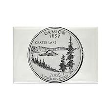 2005 Oregon State Quarter Rectangle Magnet