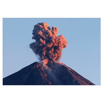 Semeru eruption Java Island Indonesia Canvas Art