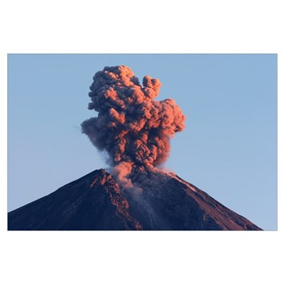 Semeru eruption Java Island Indonesia Poster
