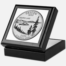 2005 Oregon State Quarter Keepsake Box