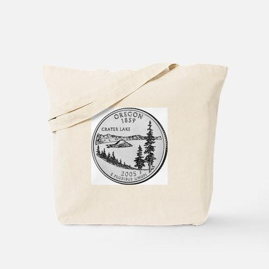 2005 Oregon State Quarter Tote Bag
