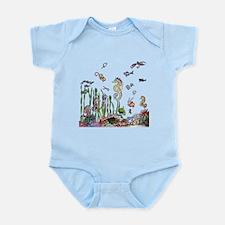 Ocean Life Infant Bodysuit