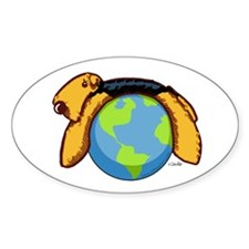 Airedale World Decal