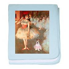 BalletClass-JackRussell #11 baby blanket