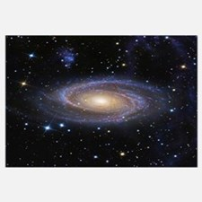 Messier 81 or Bodes Galaxy is a spiral galaxy loca