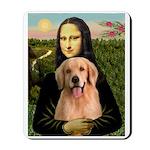 Mona Lisa/Golden #8 Mousepad