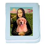 Mona Lisa/Golden #8 baby blanket
