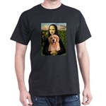 Mona Lisa/Golden #8 Dark T-Shirt