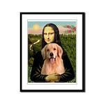 Mona Lisa/Golden #8 Framed Panel Print