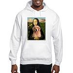 Mona Lisa/Golden #8 Hooded Sweatshirt