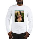Mona Lisa/Golden #8 Long Sleeve T-Shirt
