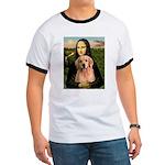 Mona Lisa/Golden #8 Ringer T