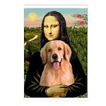 Mona Lisa/Golden #8 Postcards (Package of 8)