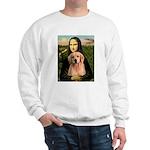 Mona Lisa/Golden #8 Sweatshirt