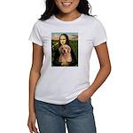 Mona Lisa/Golden #8 Women's T-Shirt
