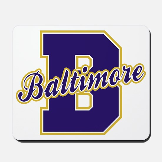 Baltimore Letter Mousepad