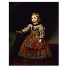 The Infanta Maria Margarita (1651-73) of Austria a Poster