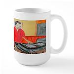 El DJ Booth Large Mug