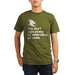 Stop piracy. Destroy the boat Organic Men's T-Shir