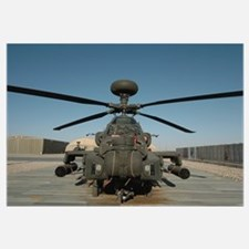 An Apache Helicopter at Camp Bastion, Afghanistan