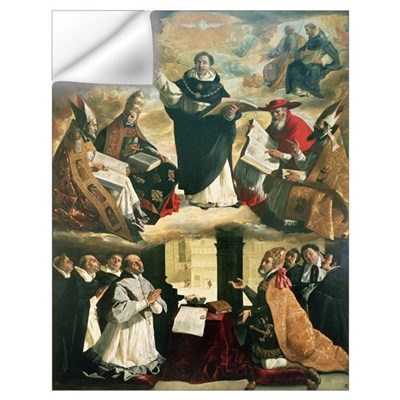 The Apotheosis of St. Thomas Aquinas, 1631 (oil on Wall Decal