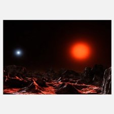 The binary star system Alcor