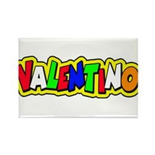 valentino Rectangle Magnet