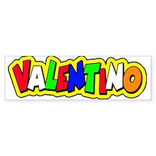 valentino Bumper Sticker