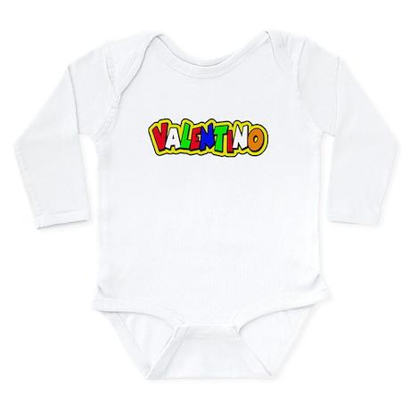 valentino Long Sleeve Infant Bodysuit