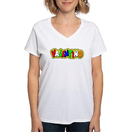 valentino Women's V-Neck T-Shirt