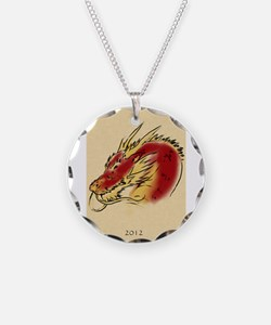 2012 - Year of the Dragon Necklace