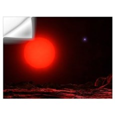 Gacrux, the prominent red giant star located in th Wall Decal