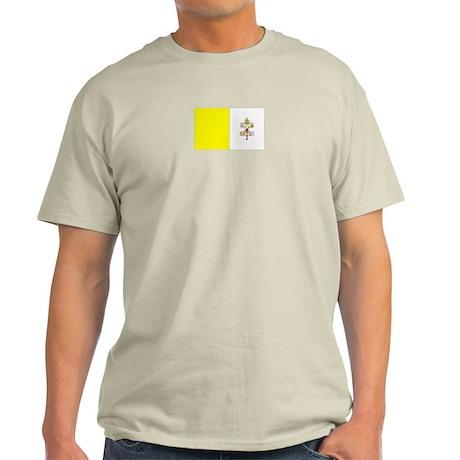 Vatican City Ash Grey T-Shirt