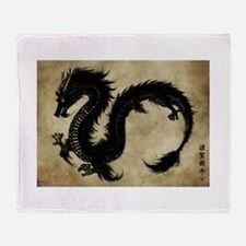 2012 - Year of the Dragon Throw Blanket
