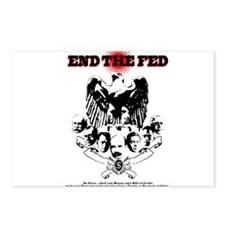End the Fed Postcards (Package of 8)