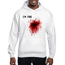 I'm Fine Hoodie