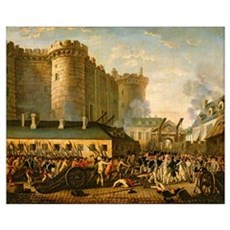 The Taking of the Bastille, 14 July 1789 (oil on c Canvas Art