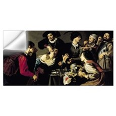 The Tooth Extractor, 1635 (oil on canvas) Wall Decal