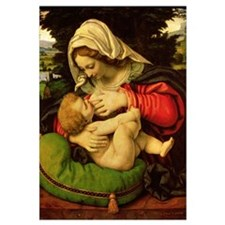 The Virgin of the Green Cushion, 1507-10 (oil on p