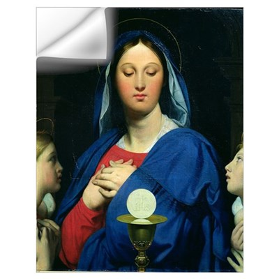 The Virgin of the Host, 1866 (oil on canvas) Wall Decal